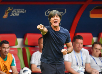 Loew at the World Cup.