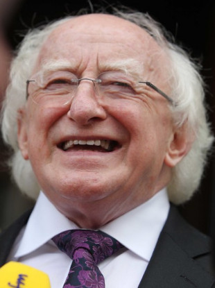 File Photo Michael D Higgins