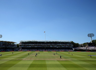 General view of Lord's.