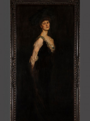 The portrait of Constance Markievicz to be presented to the House of Commons