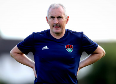 Cork City manager John Caulfield.