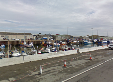 The harbour area at Kilkeel.