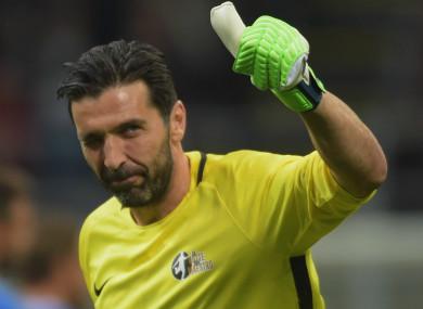 Gianluigi Buffon (file pic).