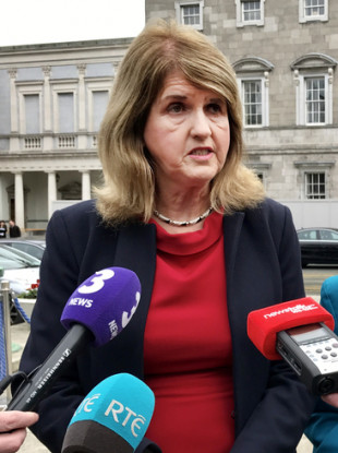 File photo of Joan Burton.