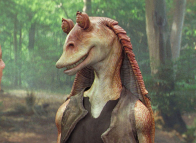 Jar Jar Binks (centre)