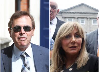 Former Justice Minister Alan Shatter and Independent Senator Frances Black
