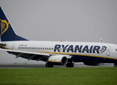 Ryanair says that standard procedures were followed.