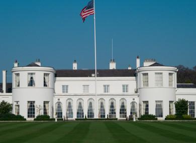 US ambassador residence in Phoenix Park, Dublin.