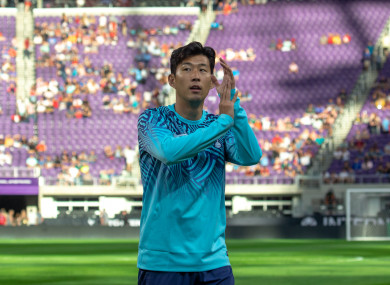 Son Heung-Min (file pic).