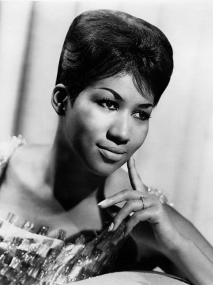 Franklin photographed in 1964