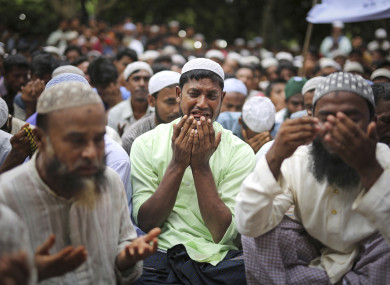 Rohingya refugees remembering the first anniversary of violence in Myanmar this weekend