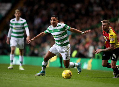 Izaguirre made 255 appearances during his first spell with the Hoops.