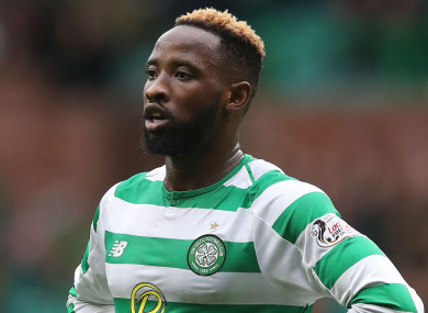 22-year-old Dembele has agreed to join Lyon.