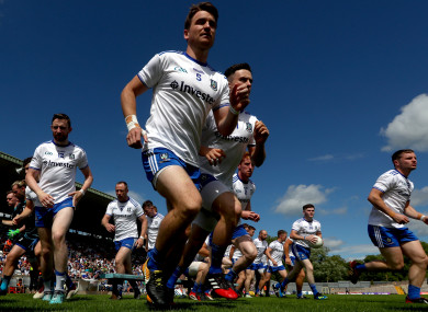 Mone: Monaghan's only change.