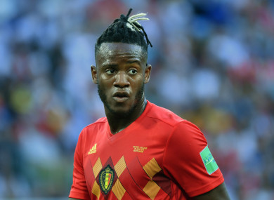 Batshuayi featured for Belgium at this summer's World Cup.