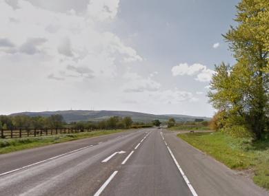 The Foreglen Road.