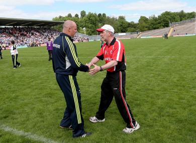 Monaghan face Tyrone in Sunday's semi-final showdown.