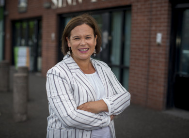 Sinn Féin Mary Lou  McDonald is holding her first think-in since she was made president of the party.