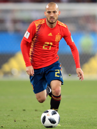 Silva during this summer's World Cup finals in Russia.
