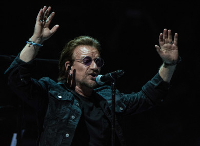 bono says he s proud of how european countries rallied behind