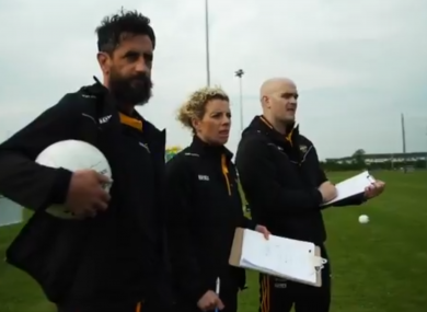 Paul Galvin, Valerie Mulcahy and Ray Silke