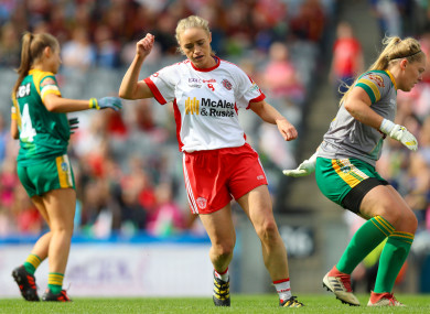 Tyrone captain Neamh Woods was excellent.