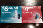 Beauty Q: Have you literally ever used one of those incessant No7 vouchers from Boots?