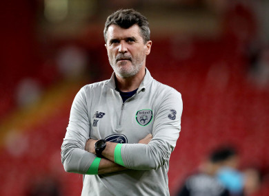 Ireland assistant boss Roy Keane is alleged to have verbally abused Harry Arter for sitting out training.