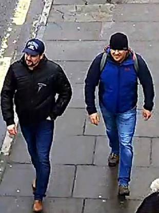 CCTV image of suspects Ruslan Boshirov and Alexander Petrov