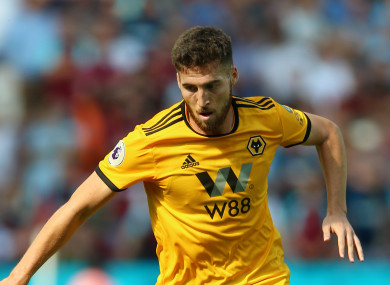 Ireland defender Matt Doherty has enjoyed a promising start to the season.