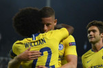 Willian strike hands Chelsea narrow win in Greece as Morata misfires once again