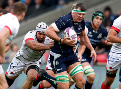 Connacht's challenge petered out in the second half.