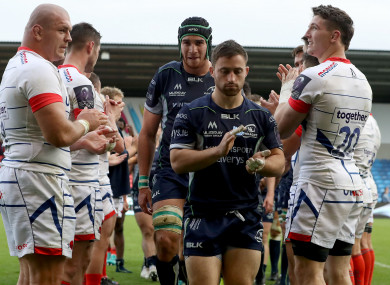 Blade and Connacht didn't get the result they wanted at the AJ Bell Stadium.