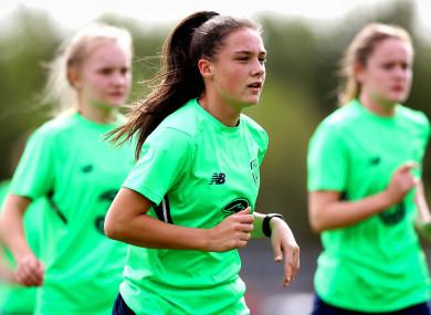 Shelbourne's Jessica Ziu scored twice (file photo).