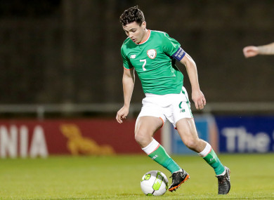 Ireland U21 captain Josh Cullen.
