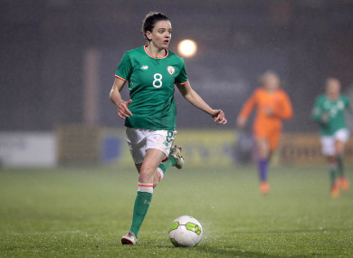 Ireland's Leanne Kiernan (file pic).