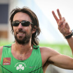 Mick Clohisey finishes in sixth overall and winner of the Irish National Marathon title<span class=