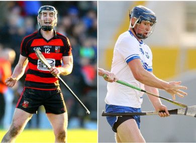 Ballygunner's Pauric Mahony goes up against Abbeyside's Conor Prunty today.