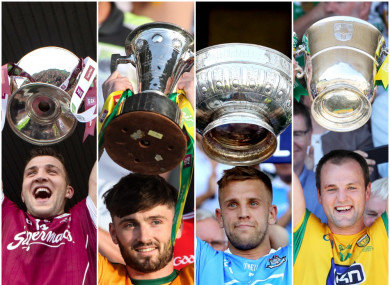 Galway, Kerry, Dublin and Donegal were crowned provincial champions this year.