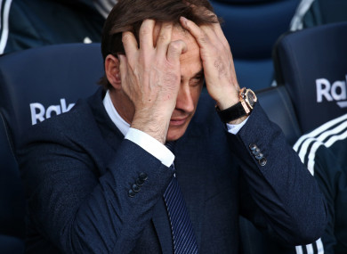 Madrid suffered a humiliating 5-1 defeat to Barcelona on Sunday.