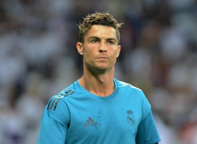 Ronaldo during his time at Real Madrid.