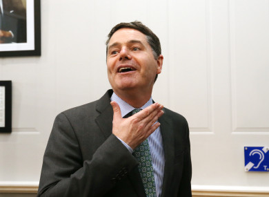 Minister Paschal Donohoe was responding to a question raised about the bankers' pay report