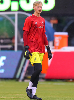 Young Reds stopper Kelleher.