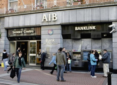 AIB needs to raise €7.4bn before the end of the year to meet the capital targets of the Financial Regulator.