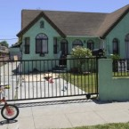 The home of Lonnie Franklin Jr in south Los Angeles where the photos of the 160 women were discovered.