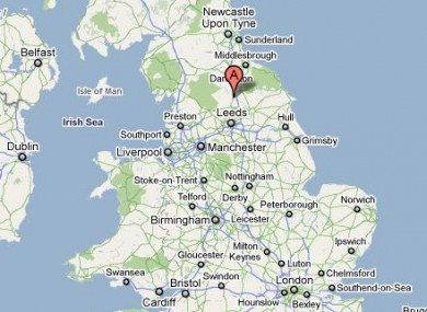 Map Of England Showing Yorkshire.3 6 Magnitude Earthquake Strikes North Yorkshire Thejournal Ie