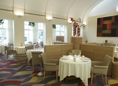 Patrick Guilbaud in Dublin remains Ireland's only two-starred Michelin restaurant.