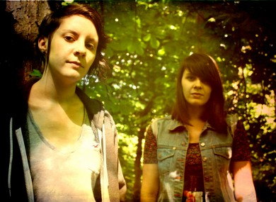 Twin sisters Ellie and Louise Macnamara, aka Heathers, are one of the acts whose music and profile is available on the Breakingtunes app