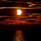Millions worldwide watched Tuesday's solar eclipse - but Siobhan Venables took one of the most stunning pictures of it at Greystones, Co Wicklow.<span class=