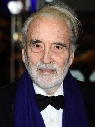 Sir Christopher Lee, who will receive the Academy Fellowship at this month's Baftas after being hailed as a